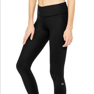 Alo Yoga Black Airbrush Leggings